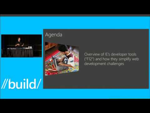 Build 2013 New Internet Explorer Developer Tools