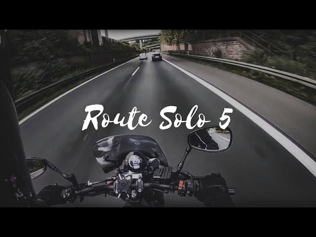 Route Solo 5 | Wuppertal | Hollanda | Belcika | Fransa | Solo Motorcu | XSR 900 | Nesli Avci