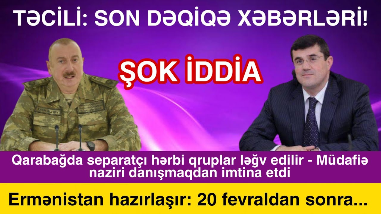 Yekun xəbərlər bugün 05.02.2021, ( Azərbaycan erməni əsirləri verib torpaq alacaq? )