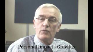 Personal Impact or Gravitas - How you can raise yours