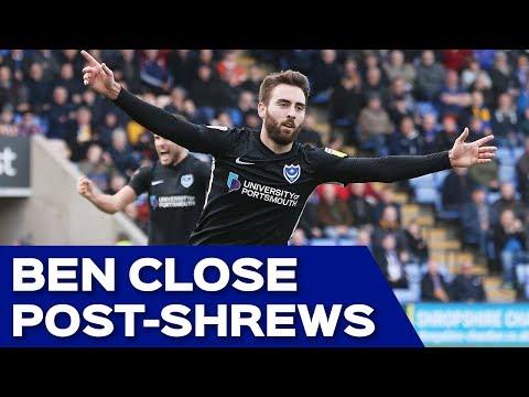 Ben Close post-Shrewsbury Town