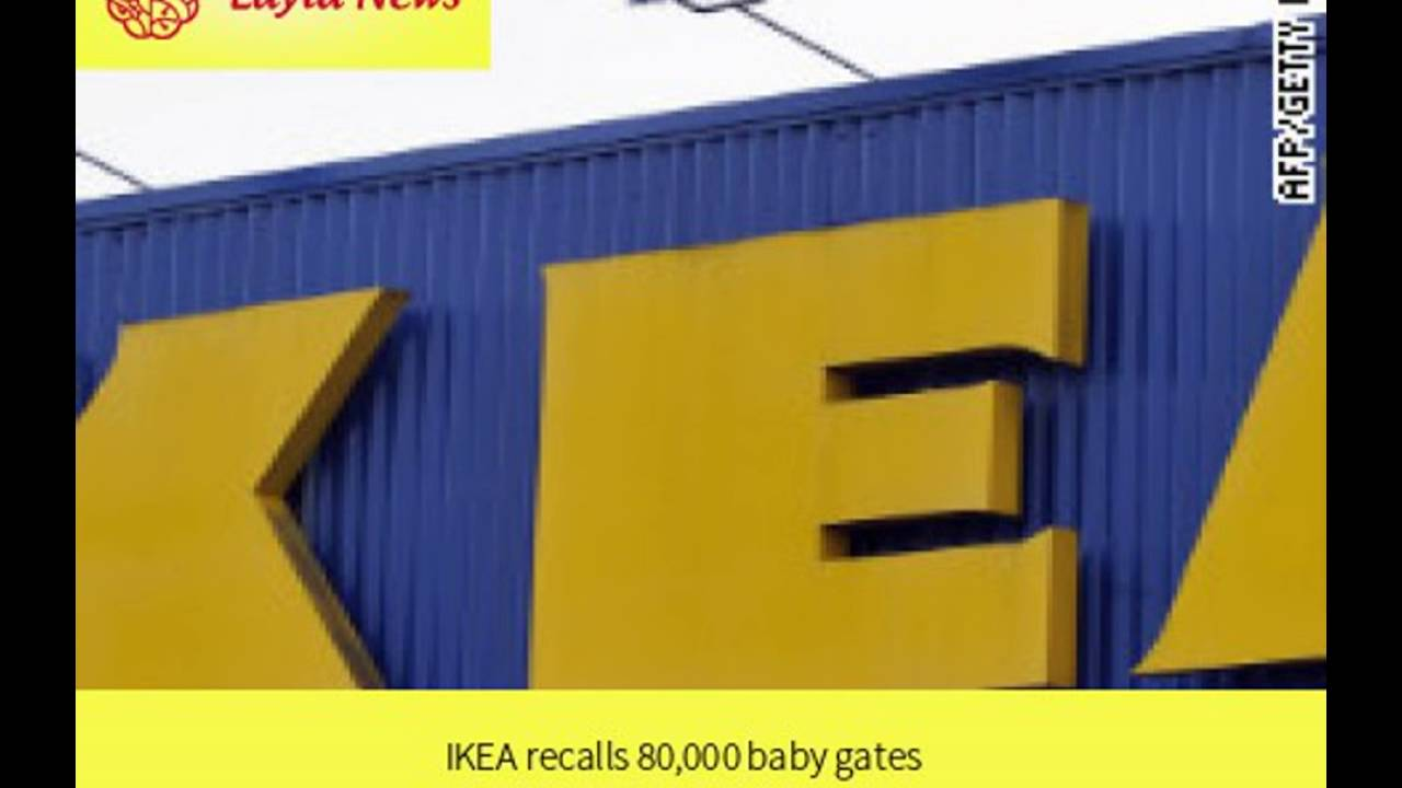 Ikea Recalls 80 000 Baby Gates By Cnn Youtube