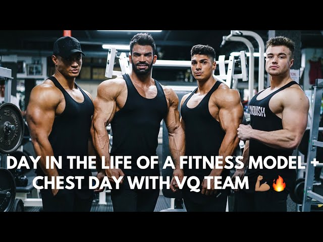 Photoshoot & MASSIVE Chest Workout w/ squad | Day In The Life....