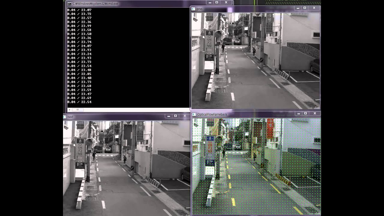 dense optical flow, FarnebackOpticalFlow , opencv,dense optical flow gpu  mode