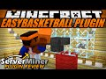 How to play basketball in Minecraft with EASYBASKETBALL Plugin