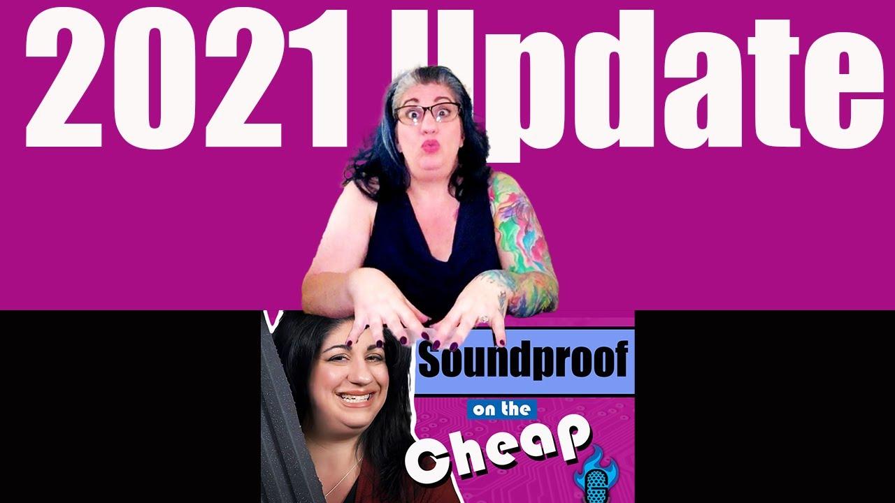 Cheap Soundproofing DIY 2021 UPDATE!
