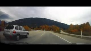 Driving through Salmon Arm, BC - Canada