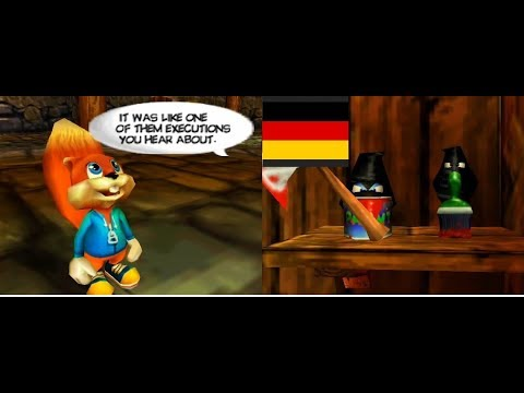 Conker´s Bad Fur Day - Scheune Theater 2 (German FanDub)