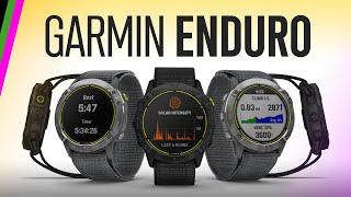 Garmin Enduro - Everything New! Battery Life, UltraRun, Trail VO2 Max, and more!