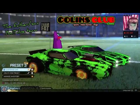 Rocket League w/ SUPERSPHEAL - ColinsClub
