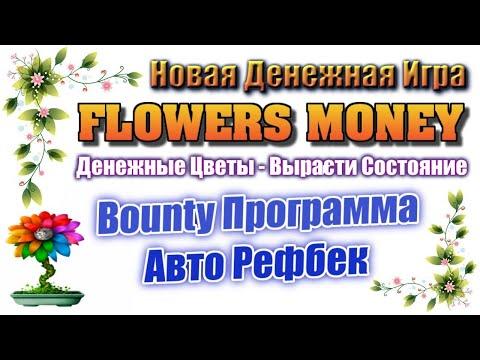 Flowers Money обзор новой экономической игры для заработка денег без баллов