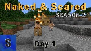 Minecraft: Naked & Scared - Season 2 - Episode 1 (Skizzleman's POV)