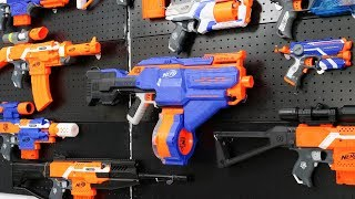 NERF GUN CHICKEN AND SUPER GUN INFINUS BATTLE
