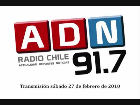 ADN Radio - Terremoto de Chile (27 de febrero de 2010) - Parte 1