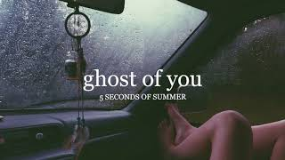 ghost of you by 5sos but you're driving while it's raining outside