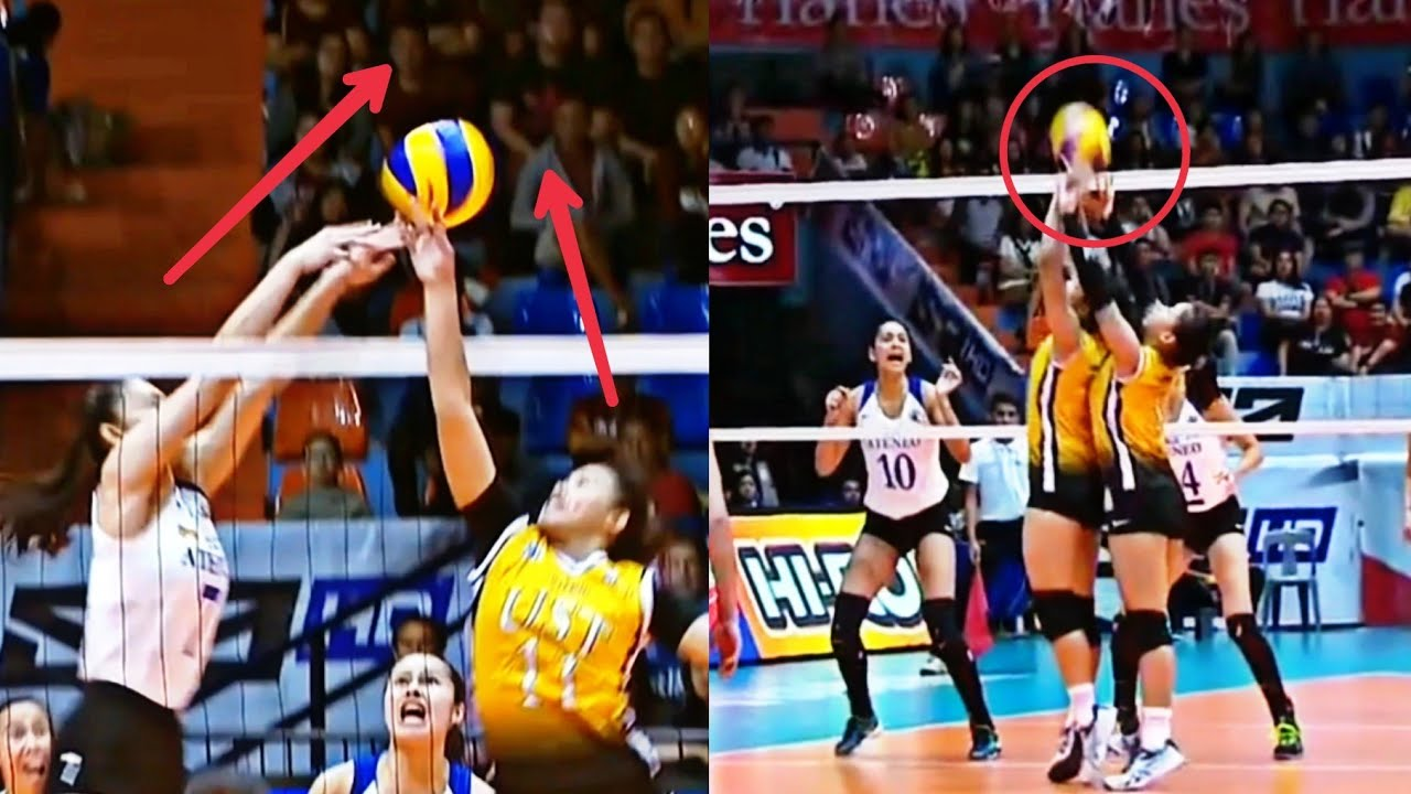 Biggest Cheating in Women's Volleyball | PH Volleyball Compiler