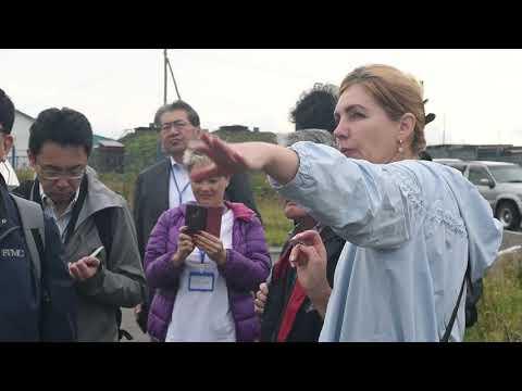 Японские специалисты по обращению с отходами посетили Южно-Курильский район