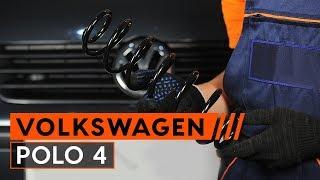 Byta Fjäder fram vänster höger på VW CRAFTER 2019 - videoinstruktioner