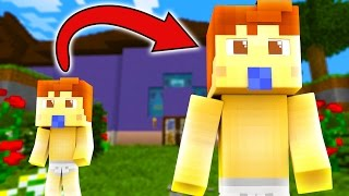Minecraft | WHO'S YOUR DADDY? BABY TURNS INTO DADDY! (Daddy Is A BABY)