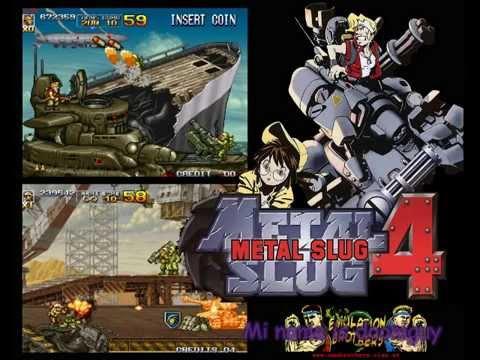 La Maldicion de Metal Slug ( Reseña a Metal slug 4 )