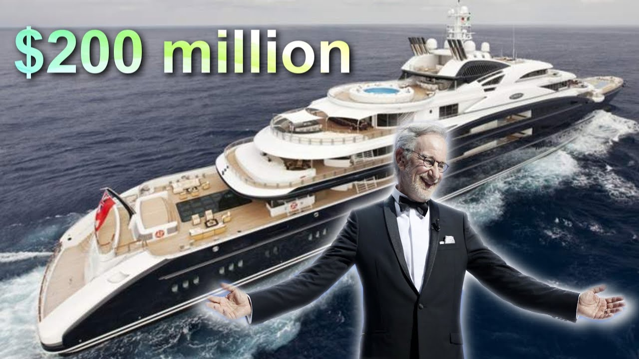 Steven Spielbergs Super Luxury Yacht Seven Seas 200 Million