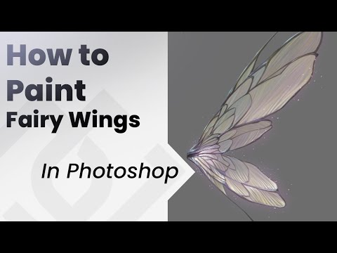 How to paint Fairy Wings tutorial
