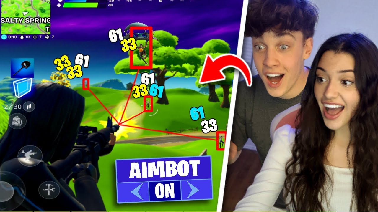 I CAUGHT My Girlfriend Using AIMBOT in Fortnite...