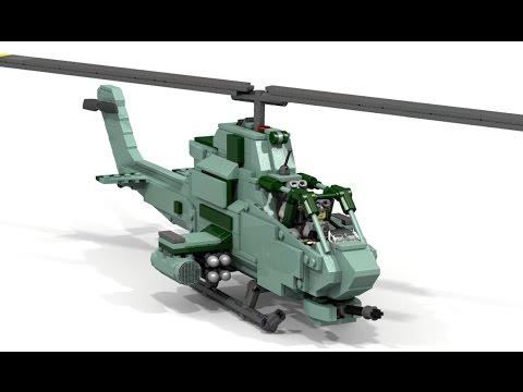 Lego Ah 1 Cobra Youtube