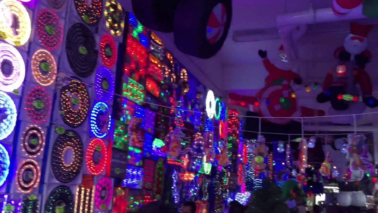 christmas light shop in mexico city