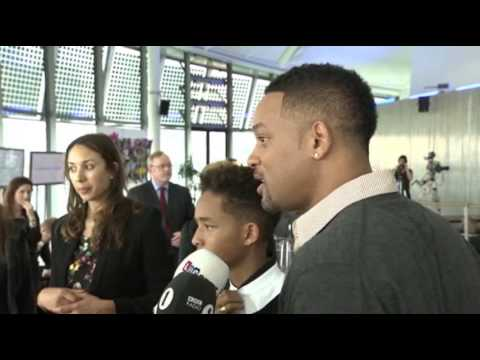 Will and Jaden Smith Surprise London Kids
