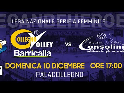 Barricalla Cus Collegno Volley vs Battistelli S.G. Marignano