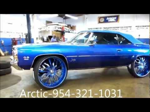 "AceWhips.NET- Arctic Customs- Chevy Vert on 30"" DA-180 ASANTIS"