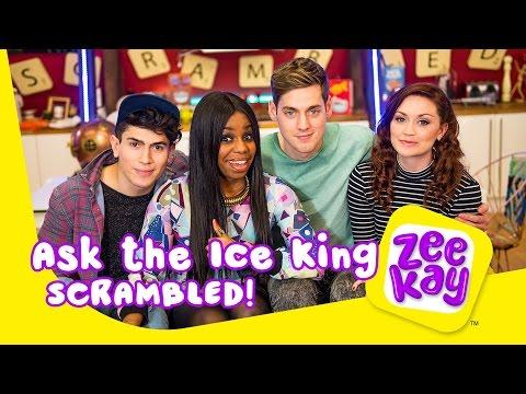 Ask the Ice King | Scrambled! | ZeeKay