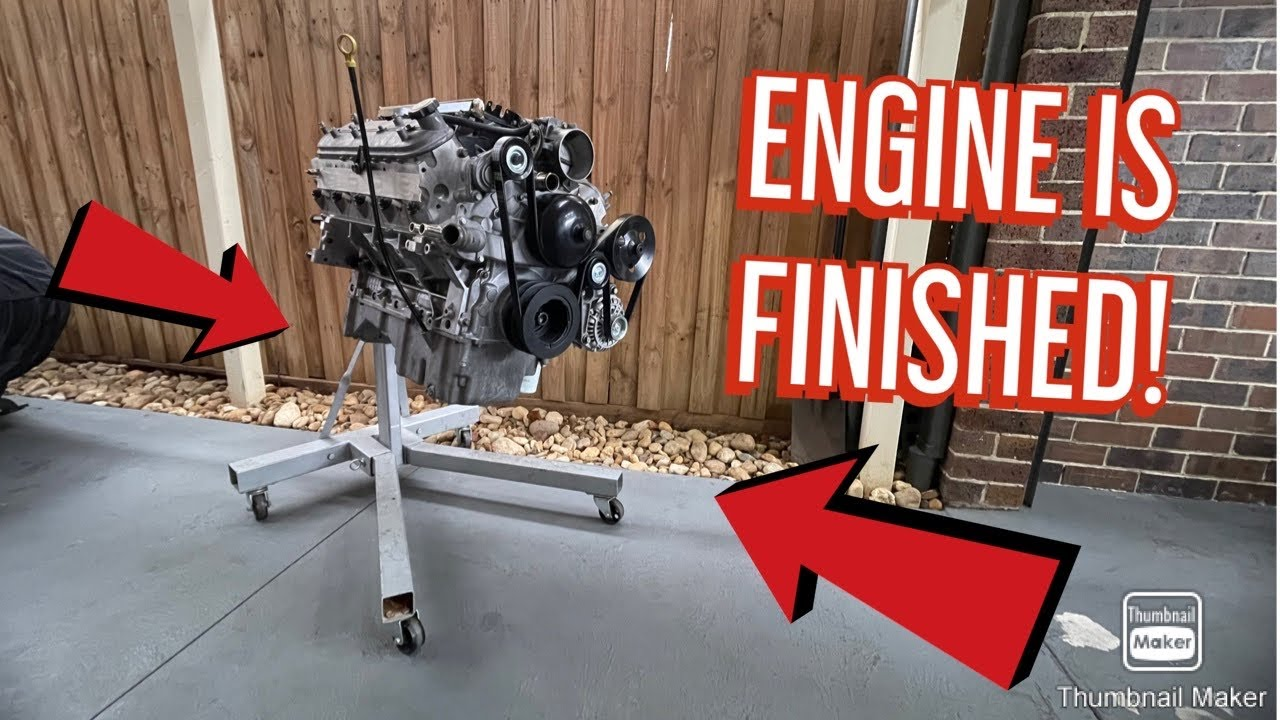 LS1 VN Commodore the final engine pieces