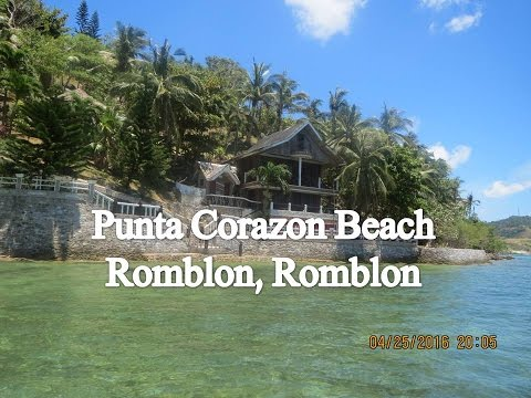 Travel:  Punta Corazon Beach Resort Romblon Romblon