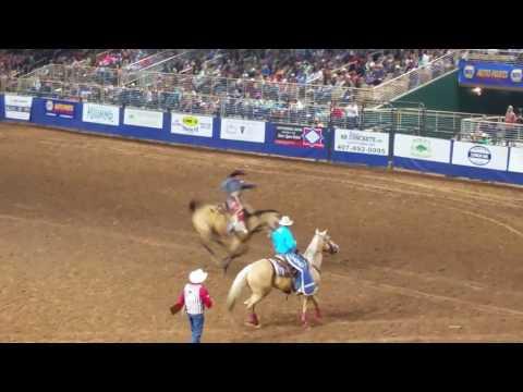 Shane Kuhn  Saddle Bronc Kissimmee PRCA 6317