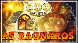 Getting 500 WINS as RAGNAROS!