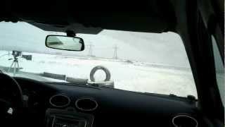 Ралли спринт 20.01.2013, Форд Фокус 2 onboard, попытка 2