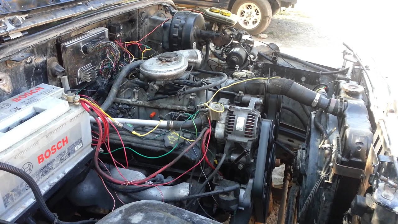 Wrangler 52 swap engine mount & more  YouTube
