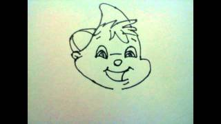 How to Draw Alvin from the Chipmunks