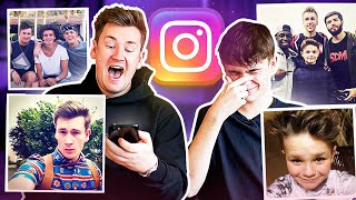 Brothers REACT to EMBARRASSING old INSTAGRAM photos *CRINGE*