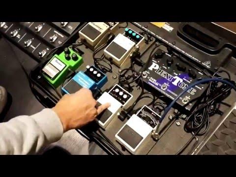 ¿Cómo sonar mejor Pedales análogos y digitales de guitarra, funcionamiento y orden en la cadena.
