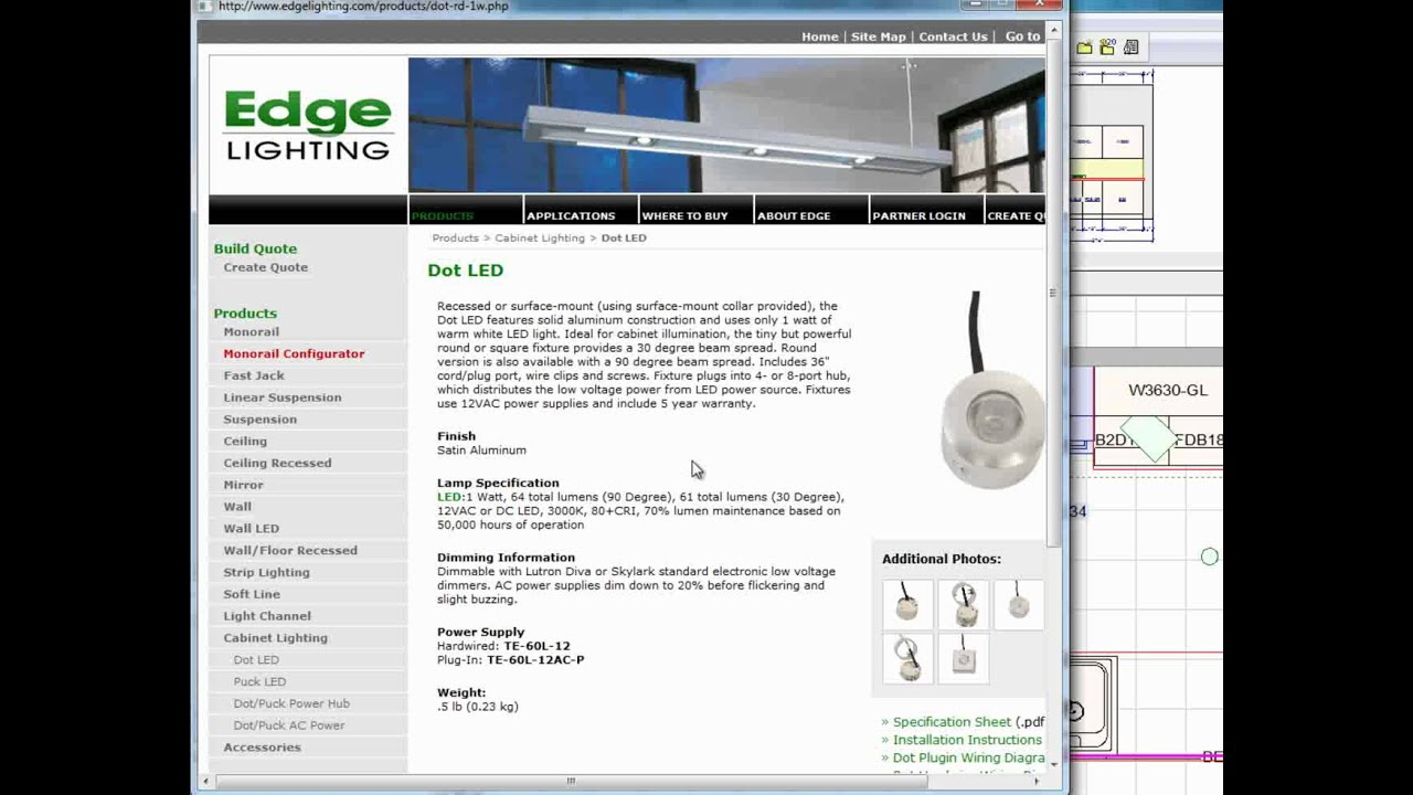How To Add Led Cabinet Lighting Using 20 20 Software