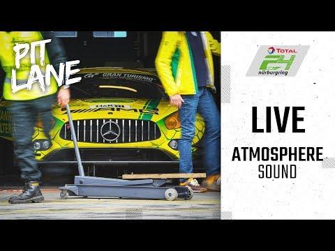 LIVE 🔴 Boxengasse // Pit Lane   Qualfiying 1 & More   ADAC TOTAL 24h-Rennen 2019