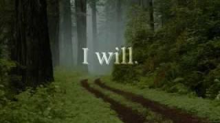I Will by Jimmy Wayne with Lyrics