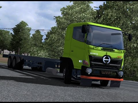 ETS 2 | Pengiriman Long Chassis 6 X 4 Hino 500 New Generation | Bukit Tinggi - Jambi