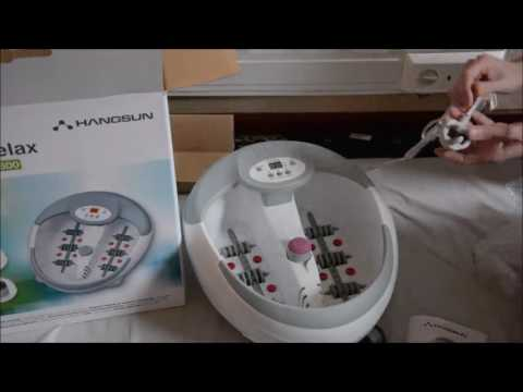 Hangsun Foot Spa and Massager with Heater FM600