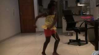 Cassie ft. Lil Wayne - Official girl(9 year old Akhona dancing)