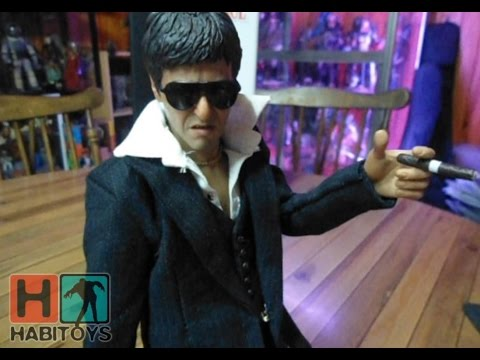 Scarface 1/6 Enterbay - Tony Montana The War Version Review en Español - Habi Toys
