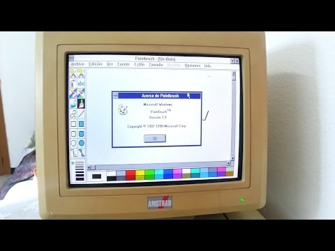 1988 Amstrad PC 8086 Windows 3.0 Test